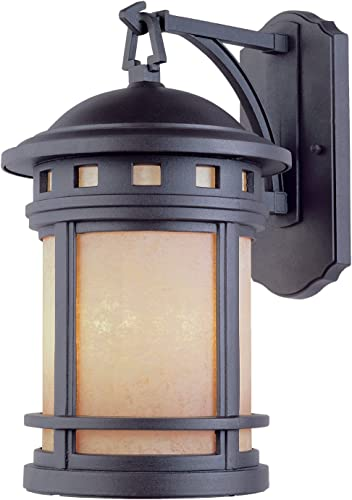 Designers Fountain 2381-AM-ORB Sedona 9 Inch Wall Lantern
