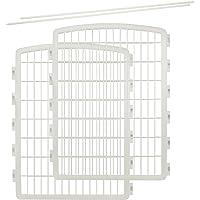IRIS 34'' Pen Playpen 2 Panel Add-On, White