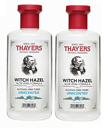 Thayers After Shave Witch Hazel with Aloe Vera Formula Astringent 4 oz (Pack of 6) murad city skin overnight detox moisturizer, 1.7 ounce