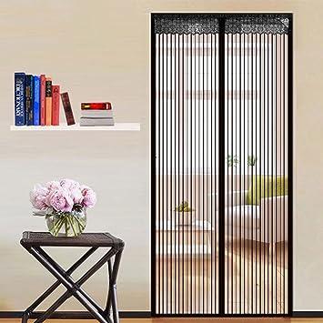 Inkint Moustiquaire Porte Fenêtre Coulissante Moustiquaire à Rouleau  Vertical Anti Mosquito Screens Magnetic Moustiquaire à