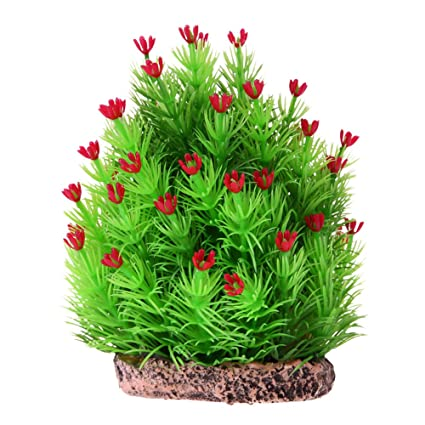 kangsanli artificial green christmas tree ornaments underwater aquarium landscape background decorations fish tank decor accessories