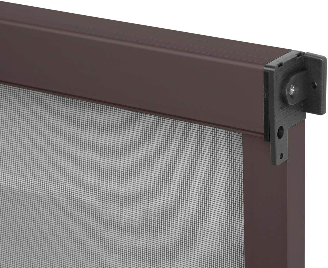 braun WIP Alu-Insektenschutz Fensterrollo 130x160cm