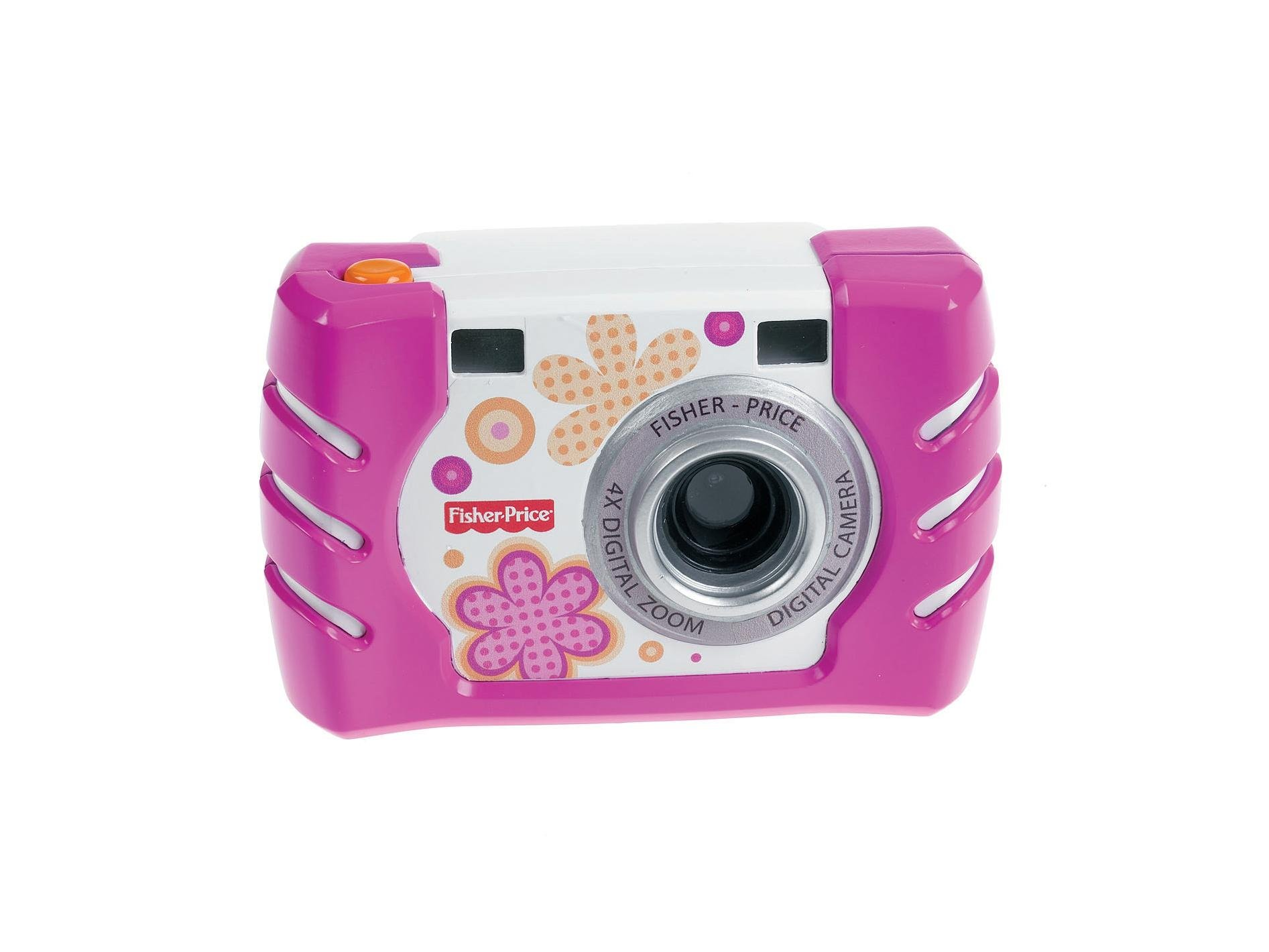 Fisher Price Kids Tough Digital Camera Slim Pink (W1460)