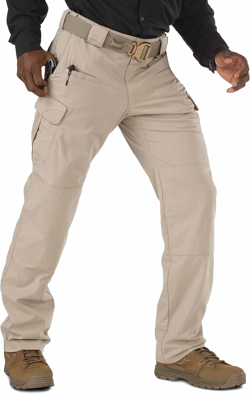 5.11 Tactical Mens Stryke Military Pants, Cargo Pockets, Stretchable Flex-Tac Fabric, Style 74369