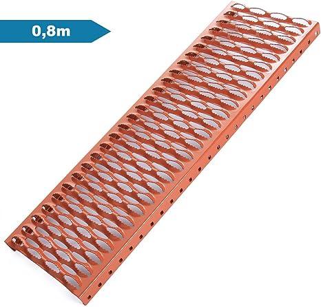 RAL 9005 EINZELTRITT Dachtritt 25cm f/ür Dachziegel und Biberschwanzziegel zum Einh/ängen Schwarz