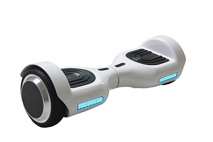36 opinioni per REVOE Hoverboard elettrico con certificazione UL 2272, Bianco