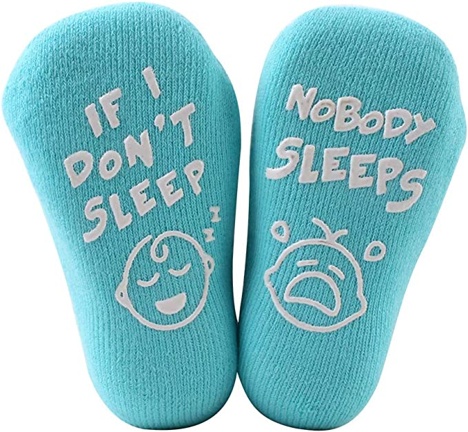 Funny Baby Socks For Newborn Boys Girls Baby Shower New Mom Cute Quotes Babies Socks For 3 12 Months