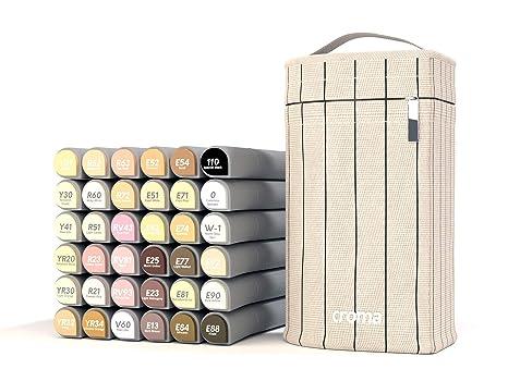 Amazon.com: Croma Lite - Juego de 36 rotuladores de punta ...