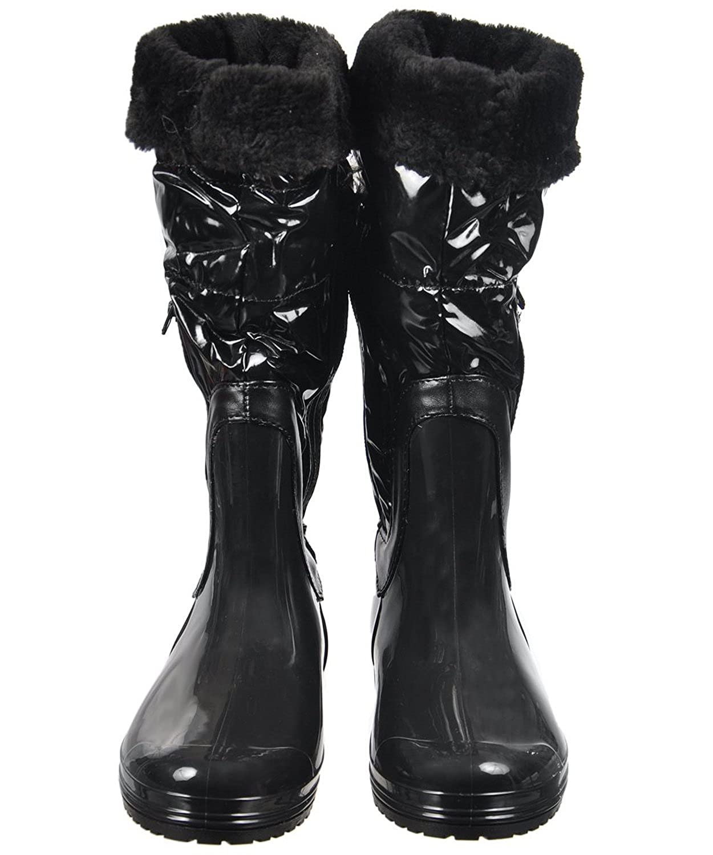 Henry Ferrera Fabulous Highs Knee-High Boots Black