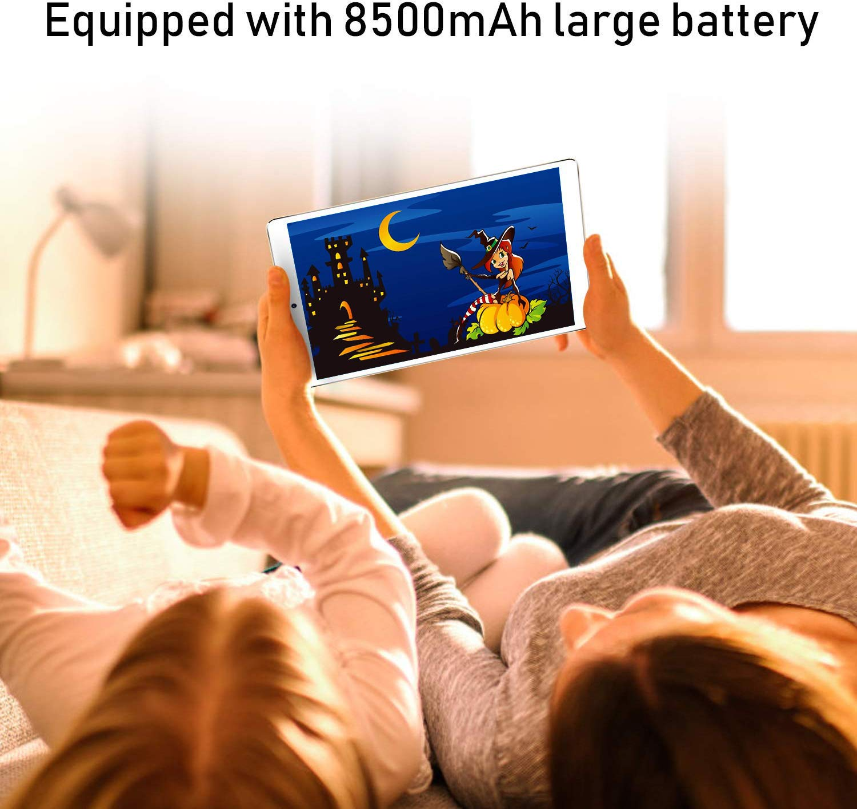 Dual SIM Dual C/ámara Bater/ía de 6500mAh 3GB de RAM 32GB de Memoria Interna Tablet 10.1 Pulgadas HD Android 8.1 Tablet PC Procesador de Quad-Core Mediapad 4G // WiFi Bluetooth GPS OTG