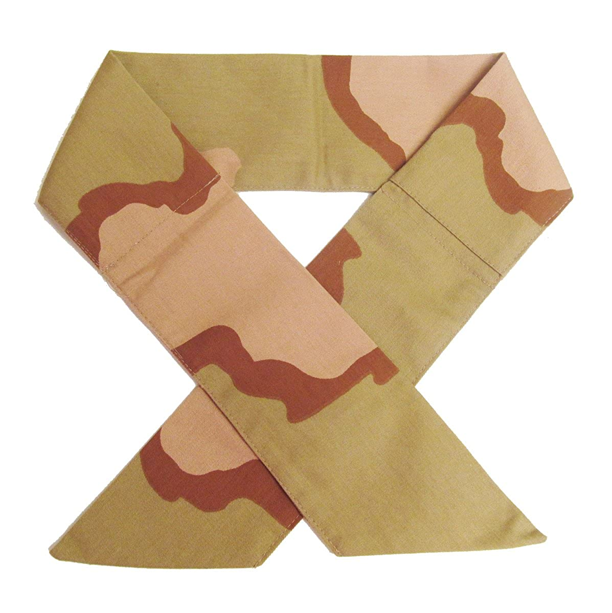 Deluxe Phase Change Neck Cooler - Desert Camouflage - Extra Wide - More Cooling!