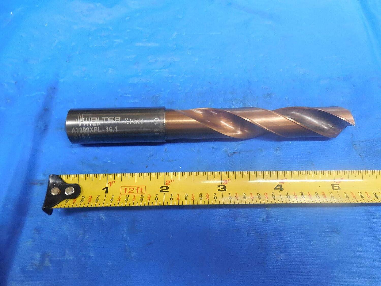 WALTER TITEX A3399XPL 16.1 mm Diameter Solid Carbide Drill BIT COOLANT Thru
