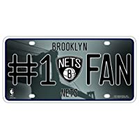 Unbekannt NBA # 1Fan Metall Auto Tag