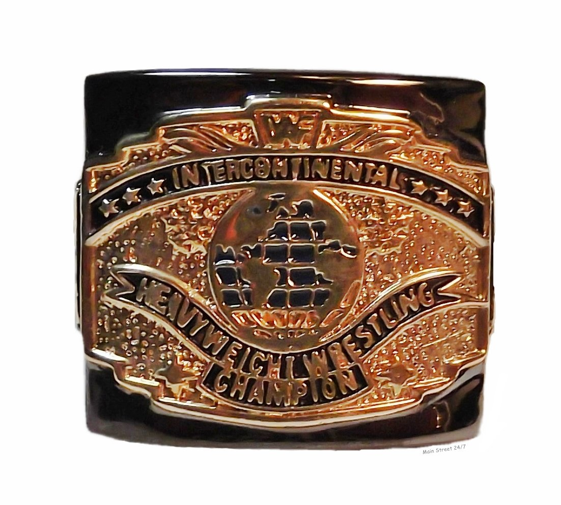 WWE Current INTERCONTINENTAL Wrestling Belt Replica FINGER RING