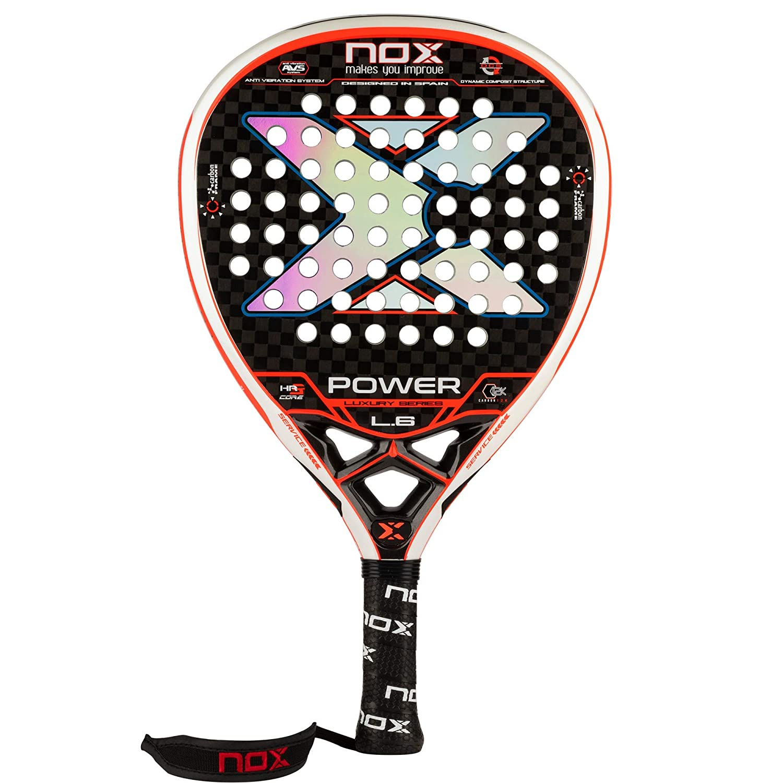 Pala de pádel NOX Luxury Power L.6: Amazon.es: Deportes y aire libre