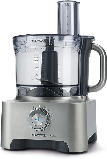 Kenwood FPM800 Robot de cocina, 1000 W, 1.6 L, tritán, metal, color negro y plata: Amazon.es: Hogar