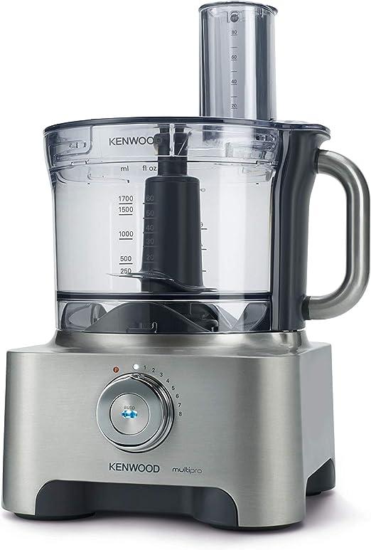Kenwood FPM800 Robot de cocina, 1000 W, 1.6 L, tritán, metal ...