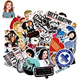 WOCOCO Stickers for Grey's Anatomy Stickers Style, Vinyl Stickers for Hydro Flask Laptop Water Bottle, Waterproof, Sun…
