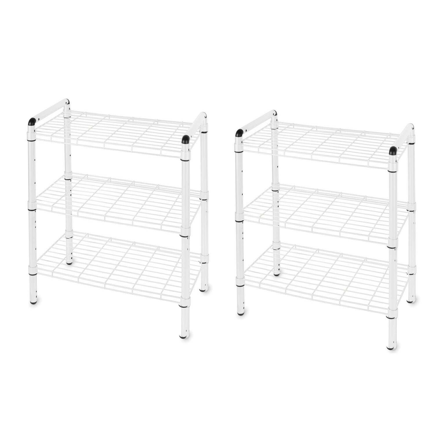 The Art of Storage White Steel 3-tier Quick Rack (Set of 2) by The Art of Storage (Image #4)