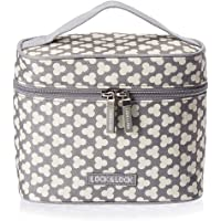 Lock & Lock Lunch Boxes With Clover Pattern Bag (Multi Color)