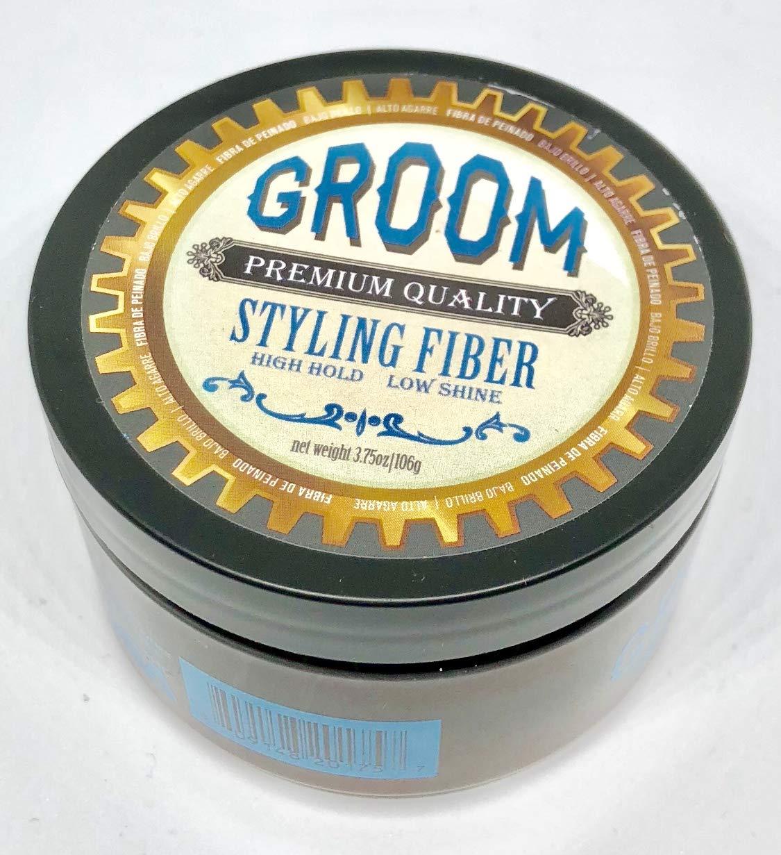 Groom Premium Quality Forming Cream w/Medium Hold & Medium Shine. 3.75oz | 106g (Styling Fiber) by Groom Premium Quality