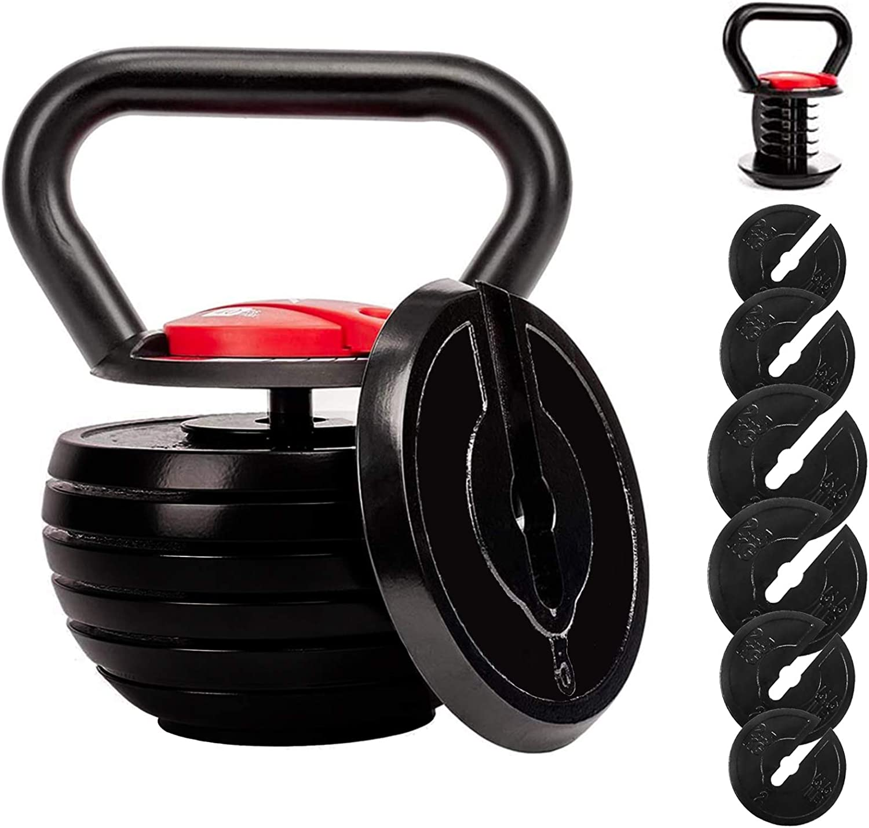 Shanchar Adjustable Strength Training Kettlebells