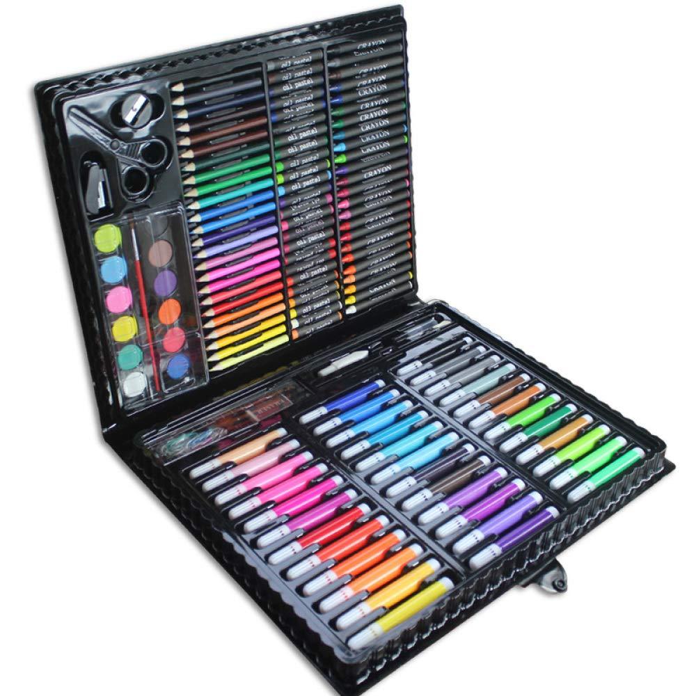Art JKWL Matite Coloreate da 150 Piec Set Case di Ispirazione per disegnare e disegnare la Pittura a Caso con pastelli a Penna a Colorei