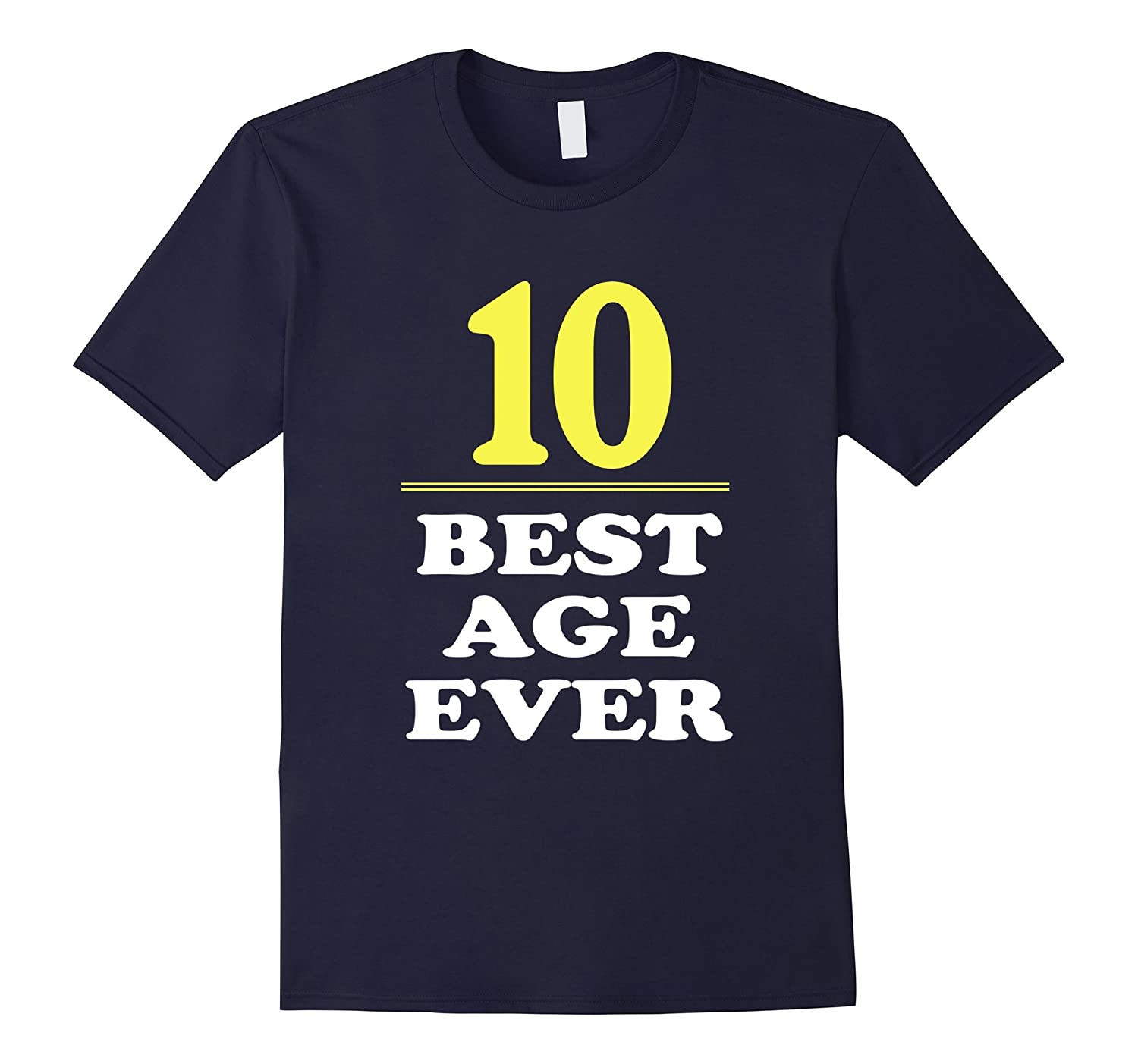10 Best Age Ever Shirt Years Old 10th Birthday Gift ANZ