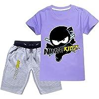 Nuevo Ninja Niños Camisetas Verano Niños Ropa Ninjago Camisetas Niños Poliéster Top Tees para Ninja Kidz Traje Niñas…