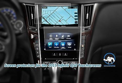 Tuff Protect Anti-glare Screen Protectors For 2015 Infiniti Q50 Car  Navigation Screen