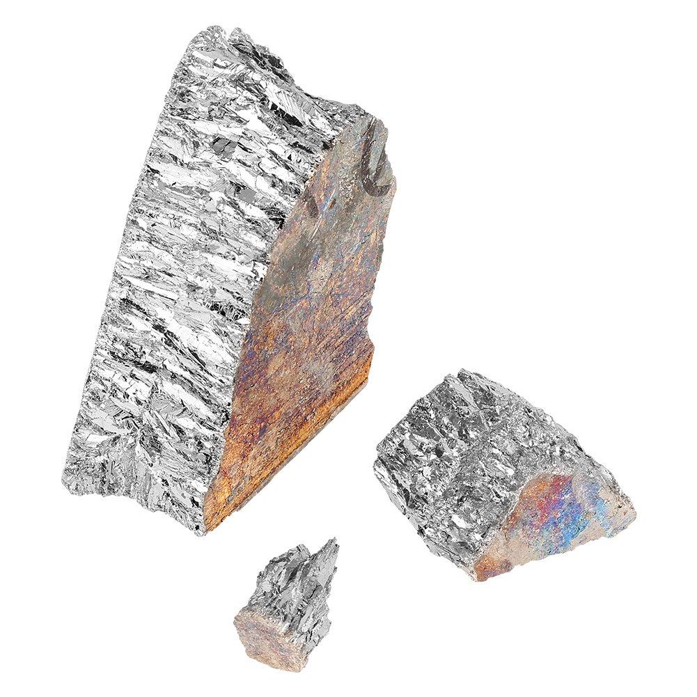 Bismuto lingote de metal Chunk 1000/G 99,99/% Pure bismuto cristal geodes para cristales//pesca se/ñuelos Making