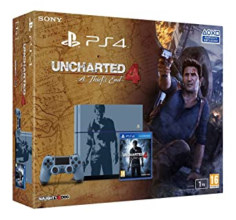 Playstation 4 uncharted console
