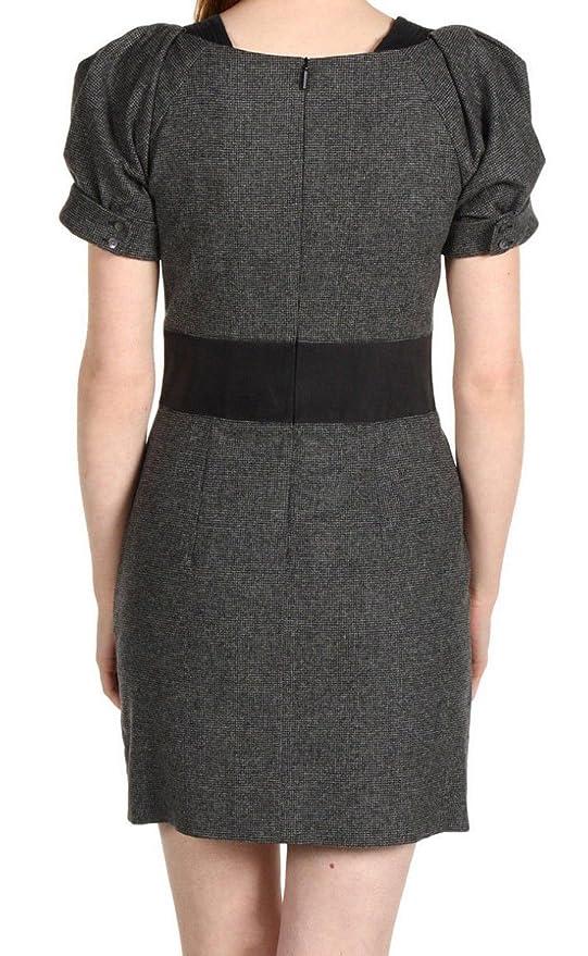BOSS Hugo Vestido mujer TG. 42 MOD. Aleka Col. Gris puntas de piel 50206191: Amazon.es: Ropa y accesorios