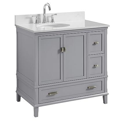 Dorel Living DA8050G C Bathroom Vanity, 36u0026quot;, ...