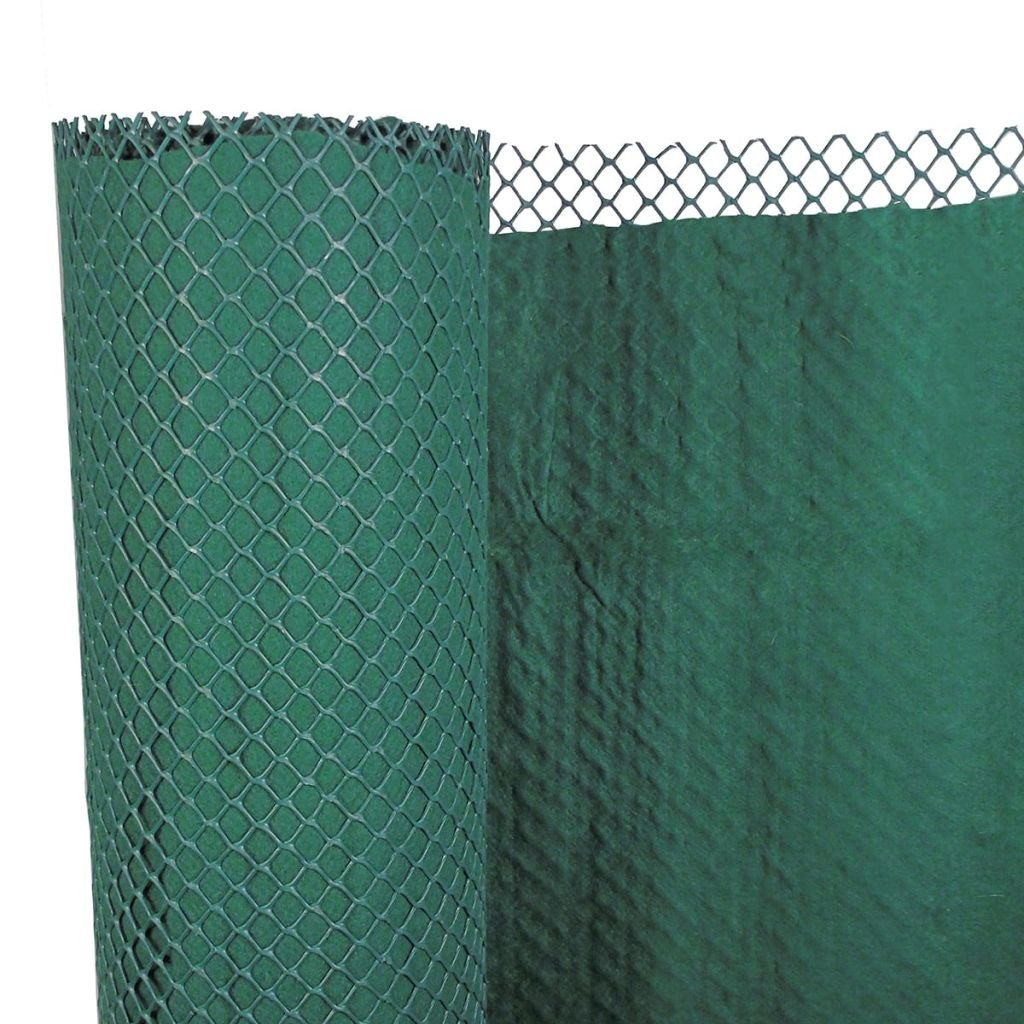 Nature Garden Windbreak Cover Balcony Mat Screen Sunshade 1x3 m Green 6050380