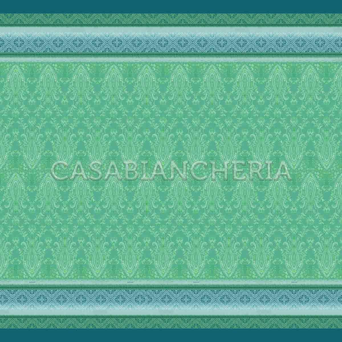 Bassetti 350x270 bassetti granfoulard telo arredo faraglioni var.2 verde 4 misure
