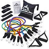 Black Mountain Products - Ultimate Resistance Band Set with Starter Guide