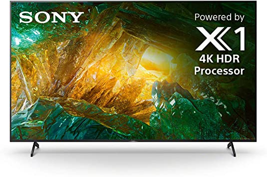 Sony X800H TV: 4K Ultra HD Smart TV LED con HDR y compatibilidad Alexa – Modelo 2020: Amazon.es: Electrónica