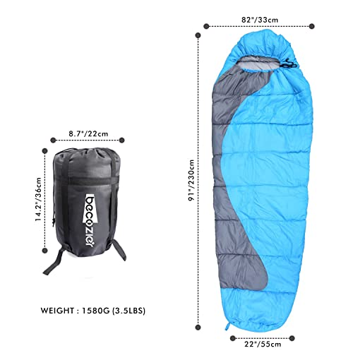 Becozier Sleeping Bag Dimensions
