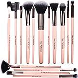 Premium Quality 15pcs Makeup Brushes Set, includes eye shadow brush, foundation brush, blush brush, concealer brush…