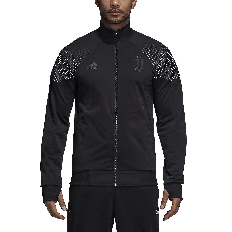 Amazon.com : adidas 2018-2019 Juventus LIC Track Top (Black) : Sports & Outdoors