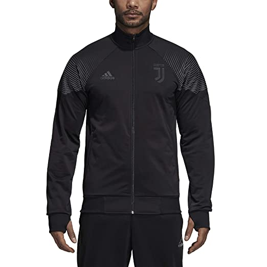Amazon.com : adidas 2018-2019 Juventus LIC Track Top (Black) : Sports & Outdoors