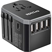 Epicka Universal Travel Power Adapter with 5.6A Smart Power and and 3.0A USB Type-C