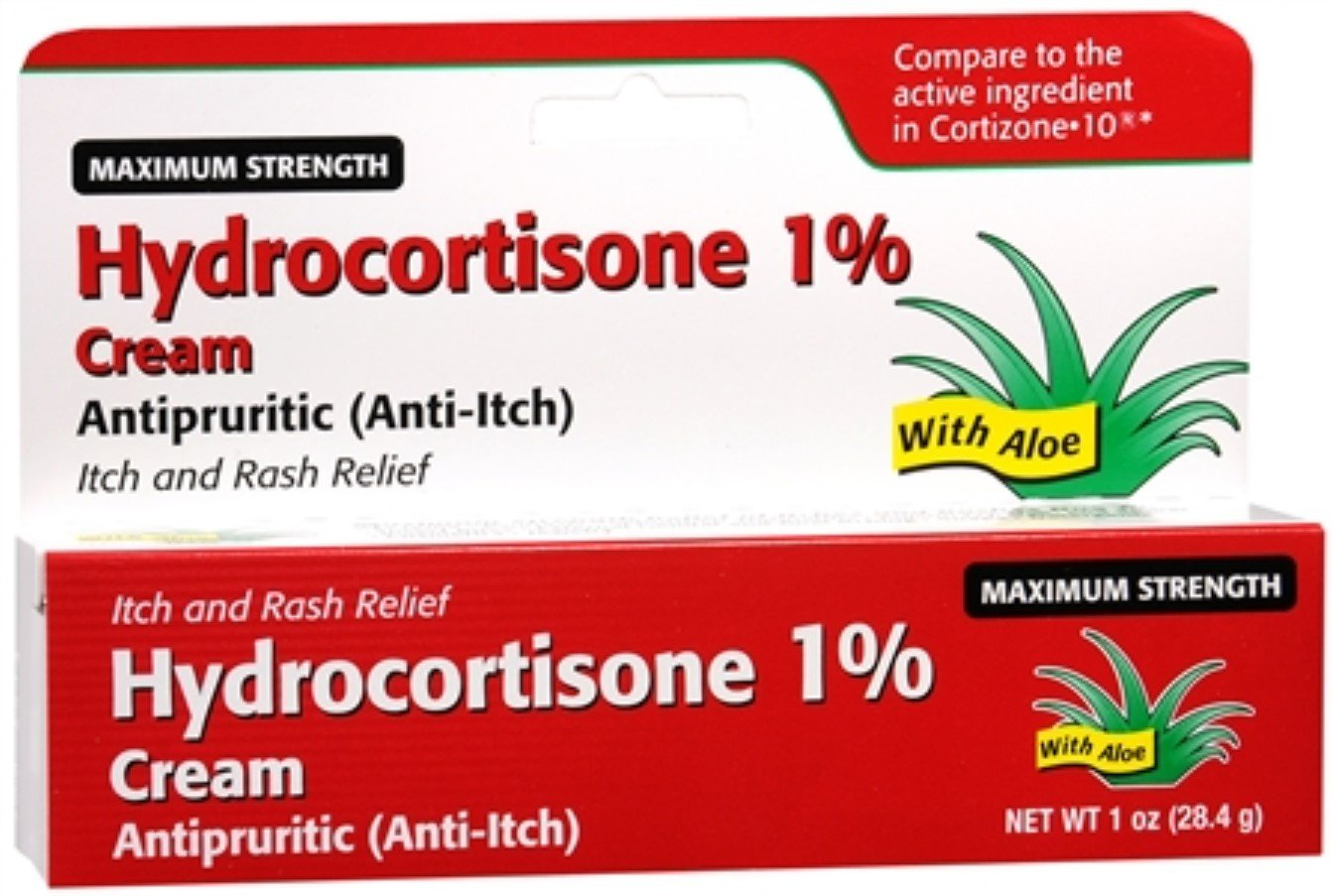 Topical Over-the-Counter (OTC) 1% Hydrocortisone Cream