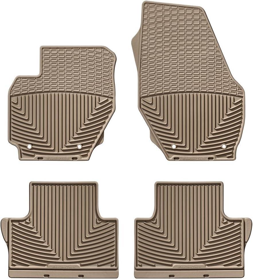 Front//Rear Rubber WeatherTech W14TN-W25TN Floor Mat