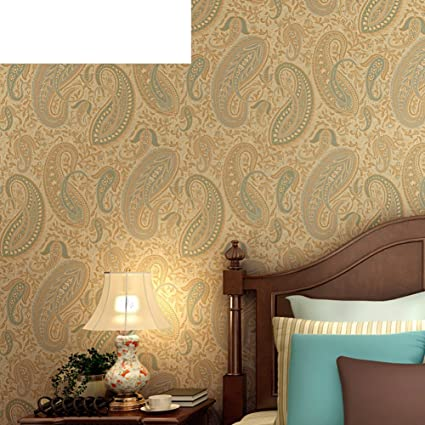 DXGFX Southeast Asia Study Dark Feather Pattern Wallpaper Bedroom American Brown Black Flowers Wallpapers