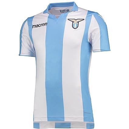 cheap for discount a9dbf 31309 Amazon.com : Lazio Away Authentic Match Jersey 2017 / 2018 ...