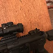 Tacticon Armament Flip Up Iron Sights for Rifle Includes Front Sight  Adjustment Tool | Rapid Transition Backup Front and Rear Iron Sight BUIS  Set