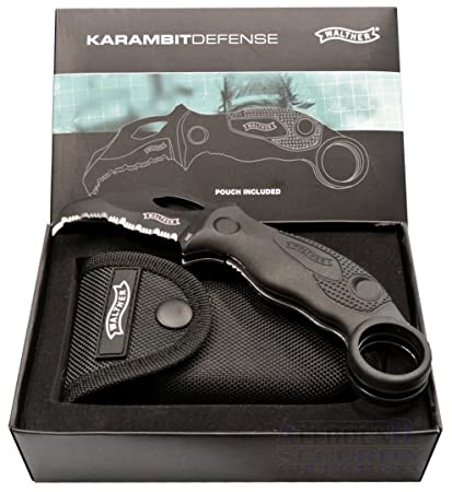 Walther Karambit Defense Knife KDK Messer 4.5