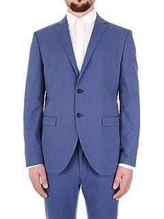 Selected Homme NOS Mens Slhslim-buffalonoah Blue Chk TRS B Noos Suit Trousers